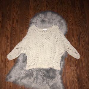 CAbi Open Knit Seaside Pullover